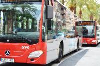 líneas nocturnas del autobús urbano