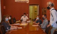 La concejala Julia Llopis presidió la reunión de la Mesa de Contratación