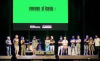 El concejal de Cultura estuvo presente en la gala final de Emerge sobre el escenario de Muelle 12, junto a jurado y grupos finalistas