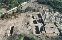 Excavaciones en la villa romana del Parque de las Naciones 1989. COPHIAM Ayuntamiento de Alicante
