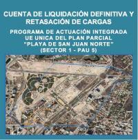 Imagen de un vuelo de la zona de San Juan Norte PAU 5 Alicante