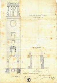 Plano Torre Reloj 1876