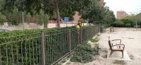 Adecuación parque canino de la calle Cronista Vicente Morellá
