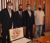 Antonio Peral recibe a representantes de la Embajada de Ucrania