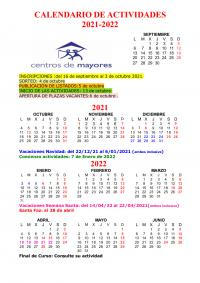 Calendario 21-22