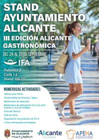 Cartel Alicante Gastronómica