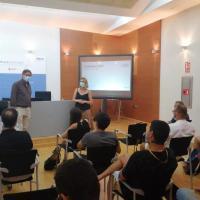 De España y Javier Díez. Inauguración Hackathon.
