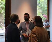 Reunión Adrián Santos