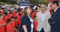 8 Oct 2019 Los concejales de Acción Social y Deportes, con el representante de la Fundación Atlético de Madrid