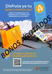 BONO COMERCIO ALICANTE 2021