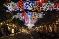 Fotos luces navidad
