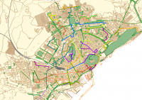 Itinerarios peatonales accesibles