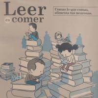 Cartel animando a la lectura