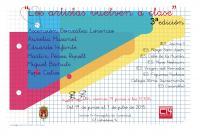Exposición 'Los artistas vuelven a clase' 3ª Edición