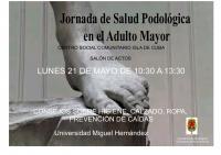 Jornada de Salud Podológica en el Adulto Mayor. Centro Social Comunitario Isla de Cuba