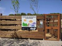 Punto compostaje comunitario calle Vicente Blasco Ibáñez