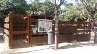 Punto compostaje comunitario parque Lo Morant