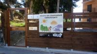 Punto compostaje comunitario Polideportivo Villafranqueza
