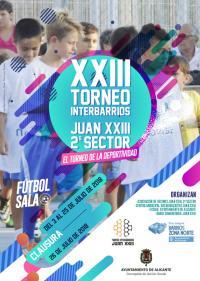 Torneo Interbarrios de fútbol sala de Juan XXIII