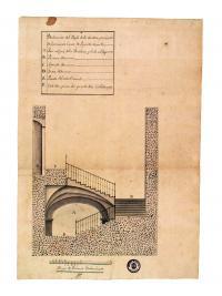 Escalera principal del Ayuntamiento