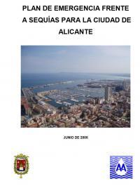Plan de emergencias frente a Sequías de la ciudad de Alicante