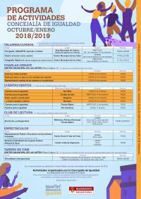 Actividades igualdad 2018-2019