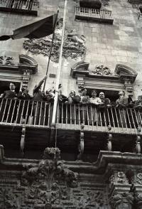 Proclamación Segunda República en Alicante, 1931. Foto Sánchez