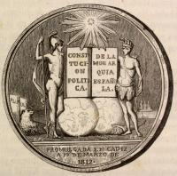 Medalla conmemorativa Constitución 1812