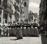 Moros y cristianos 1953. Foto Sánchez