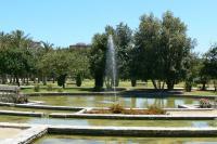 Folleto senderos por flora de jardín en el Parque Lo Morant