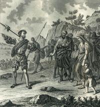 Grabado expulsión de los moriscos