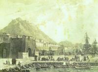Grabado Alicante principios del siglo XIX