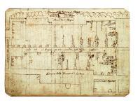 Planta del barrio de San Roque (Alicante) de 1689