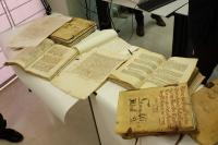 Presentación libros restaurados