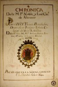 Crónica de Vicente Bendicho