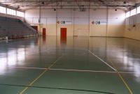 Vista interior pabellón