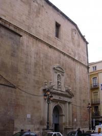 Vista de la fachada principal