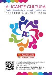 Cartel Alicante Cultura