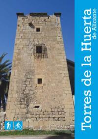 Portada de topoguía de las Torres de la Huerta de Alicante
