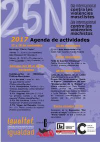 Cartel actividades 25N