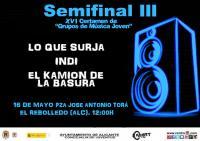 Semifinal 3 XVI Certamen de Grupos de Música Joven