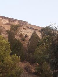 Pasarela de acceso al Castillo de Santa Bárbara
