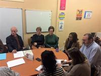 Reunión Mesa de Mayores