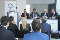 El alcalde de Alicante, Luís Barcala, en la asamblea anual de la Asociación de Empresas Familiares de la Provincia de Alicante