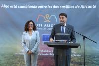"""Inauguración de la nueva Oficina de Información y Comunicación de la EDUSI Alicante Área """"Las Cigarreras"""""""
