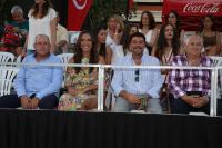 El alcalde junto al presidente de la Federación de Moros y Cristianos