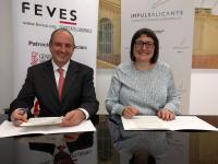 ALDES y FEVES acorden reforçar la promoció en Economia Social