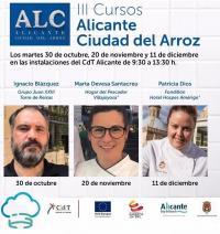 Cursos Alicante Ciudad del arroz