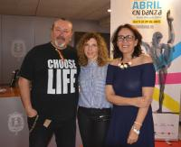 Javier Baeza, Asun Noales y Gloria Vara