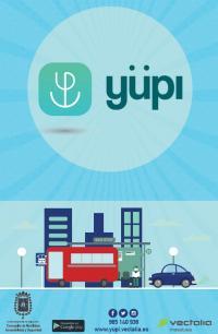 Aplicación móvil yüpi